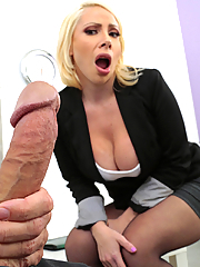 Dolce Vandela gets railed by her employee in the office