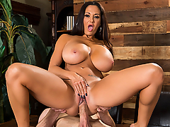 Ava Addams is a bored housewife who needs a hard cock in her life. Her husband works so much and he won't even give her phone sex. So when a nice young man comes by with a survey, she sees an opportunity to get the dicking she's been dreaming of!