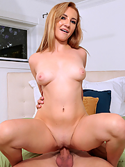 Jade Amber gets sweet pussy rammed in many positions
