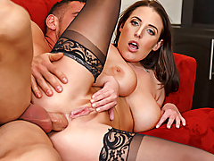 Angela White and her boyfriend have been staying at Johnny's place while her boyfriend is in between jobs. Johnny confesses that he's always had a crush on Angela, apparently Angela also has a crush on him. While her boyfriend is out on a job search, Angela sneaks into Johnny's office and shows him exactly how she feels about him!