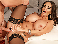 Ava Addams' husband wants her to get together with Bambino and share some photos of her getting some good action.