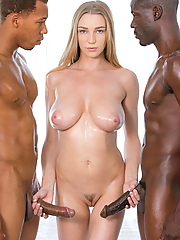 Kendra Sunderland fulfills her ultimate sexual desires with two black guys