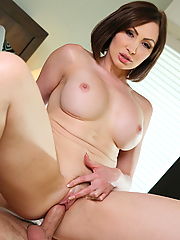 Yasmin Scott seduces her stepson with her juicy boobs