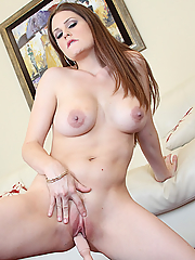 Allison Moore solo and hot masturbating