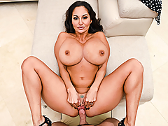 Happy Steak and Blowjob Day! Housewife Ava Addams appreciates you so much that she's gone out of her way to make sure your favorite day of the year is celebrated to your your dick's desire. Her big fat tits are ready to fall out of her dress, and Ava's ready to pull your cock out of your pants! So set that porterhouse aside to rest and allow the juices to hold, and all the while Ava will suck on your meat to get it good and ready to for her succulent juices!