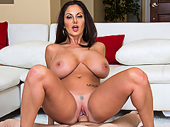 Time to call the plumber! Ava Addams is having some water issues at her home, and would you know what turns out to be the culprit? Her favorite dildo! The plumber finds the sex toy jammed down the drain for whatever reason, which he admits happens to be a common theme in that particular neighborhood of cougars and MILFs. Never one to be shy, Ava unleashes that very cougar inside her and tells the plumber that if she doesn't have a fake big dick to fuck anymore, she's going to need a real one, his! Mere seconds later, Ava's big tits and big ass come out and she's getting her own plumbing snaked!
