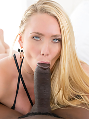 AJ Applegate rides the investor's massive black shaft