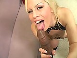 This clip from Black Cock Worship 4 by Lethal Hardcore features blonde sexpot Tara Lynn Foxx sucking that big black cock like the little whore she is getting her little wet pussy ready to get fucked.