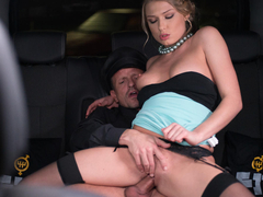 Enjoy this hot, hardcore car fuck with Russian beauty Lucy Heart and George Uhl. He bangs her passionately in the backseat of the car before covering her sweet pussy in cum. (Video duration: 25 minutes)