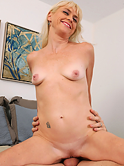 Angelique H takes a big dick