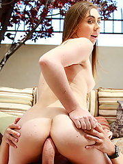 Lexi Lovell takes a fat pole up her butt hole