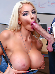 Nicolette Shea gets screwed during office hours