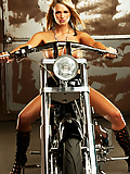 Heather Starlet biker babe masturbating her juicy pussy