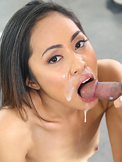 Aurora Winters gets fucked and facialed at a porn audition