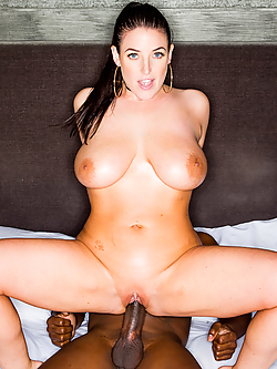 Angela White Hooks Up With A Black Stud For Truly Memorable Sex