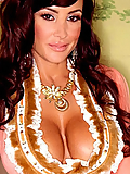 Lisa Ann looks like a queen in her flowing robes