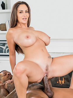 Ava Addams busty executive bangs one of her clients