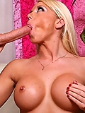 Shawna Lenee makes sure her pussy gets wet too