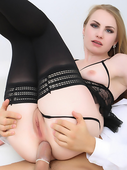 Madison Lush gets assfucked in stockings and high heels