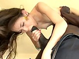 This clip from Total Black Invasian by West Coast Productions features the tiny little Asian delight Amai Liu turned upsidedown with a big black dick in her mouth getting her sweet little twat licked and sucked.