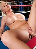 Angel Vain fucking a married guy in the boxing ring