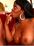 Samone Taylor fucking her boyfriend's older son on the couch