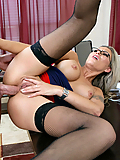 Anna Nova gets assfucked by her boss to get a promotion