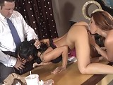 In this Wicked clip hotass Asa Akira has Brad Armstrongs dick in her mouth and Kirsten Prices fingers in her pussy What a day at the office